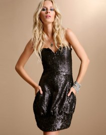 SEQUIN POCKET DRESS